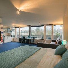 Отель Studio Diemerbos Нидерланды, Амстердам - отзывы, цены и фото номеров - забронировать отель Studio Diemerbos онлайн комната для гостей фото 3