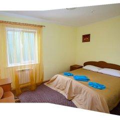 Гостиница Tourkomplex Karpaty Люкс с различными типами кроватей фото 4