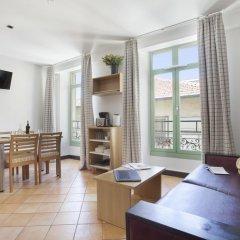 Отель Odalys City Nice Le Palais Rossini Апартаменты разные типы кроватей фото 13