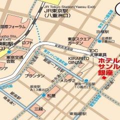 Отель Sunroute Ginza Япония, Токио - отзывы, цены и фото номеров - забронировать отель Sunroute Ginza онлайн спортивное сооружение