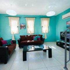 Отель Oceanview Villa 089 Кипр, Протарас - отзывы, цены и фото номеров - забронировать отель Oceanview Villa 089 онлайн комната для гостей фото 5