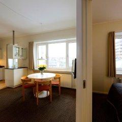 Апартаменты Ascot Apartments Копенгаген комната для гостей фото 5
