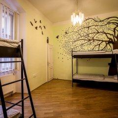 Ahoy! Hostel Кровать в общем номере с двухъярусной кроватью