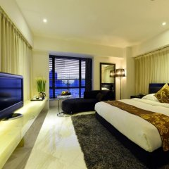 Kingtown Hotel Hongqiao 4* Номер Делюкс с различными типами кроватей фото 3