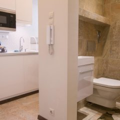 Отель Chain Bridge Studio Apartment Венгрия, Будапешт - отзывы, цены и фото номеров - забронировать отель Chain Bridge Studio Apartment онлайн ванная