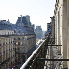 Отель Lumen Paris Louvre Франция, Париж - 10 отзывов об отеле, цены и фото номеров - забронировать отель Lumen Paris Louvre онлайн балкон