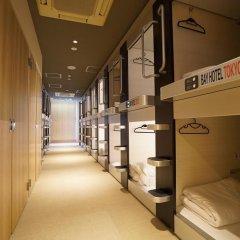 Tokyo Ekimae BAY HOTEL Капсула в женском общем номере фото 3