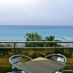 Отель Apart a Nice : A Breathtaking View on the Sea Ницца балкон
