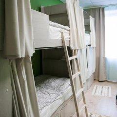 Brusnika Hostel Кровать в общем номере с двухъярусной кроватью фото 13