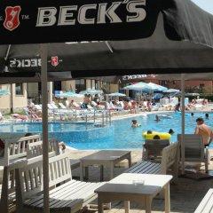 Отель Avalon Freya Apartments Болгария, Солнечный берег - отзывы, цены и фото номеров - забронировать отель Avalon Freya Apartments онлайн бассейн