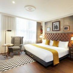 Hotel Indigo Edinburgh - Princes Street 4* Улучшенный номер с различными типами кроватей фото 3