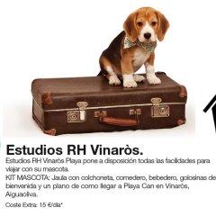 Отель Estudios RH Vinaros с домашними животными