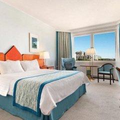 Отель Hilton Helsinki Strand 4* Представительский номер с двуспальной кроватью фото 3