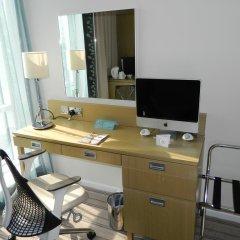 Отель Hilton Garden Inn Glasgow City Centre 4* Стандартный номер с 2 отдельными кроватями фото 4