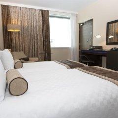 Отель Hilton London Canary Wharf 4* Номер Делюкс с различными типами кроватей