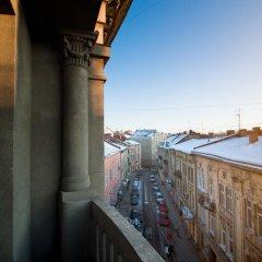 Гостиница Британский Клуб во Львове балкон
