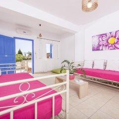 Отель Bella Santorini Studios 4* Стандартный номер с различными типами кроватей фото 3