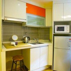 KW Hongdae Hostel Стандартный номер с 2 отдельными кроватями фото 8