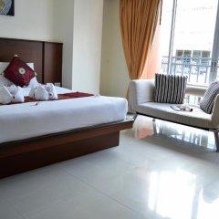 Отель Sharaya Residence Patong 3* Стандартный семейный номер разные типы кроватей фото 3