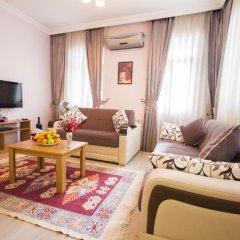 Апартаменты Feyza Apartments Семейные апартаменты с двуспальной кроватью фото 23