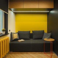 Хостел Suffix Стандартный семейный номер с двуспальной кроватью фото 8