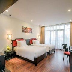 Отель Belle Maison Hadana Hoi An Resort & Spa - managed by H&K Hospitality. 4* Представительский номер с различными типами кроватей фото 2