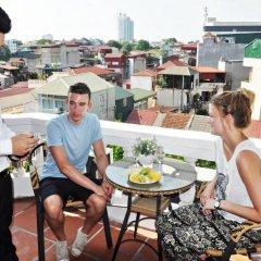 Hanoi Little Center Hotel балкон