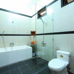 Отель Quang Xuong Homestay 2* Люкс с различными типами кроватей фото 2