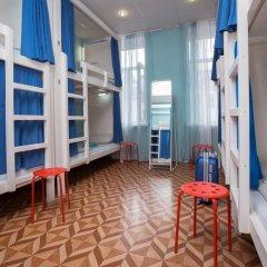 Laguna Hostel Кровать в общем номере с двухъярусной кроватью фото 21