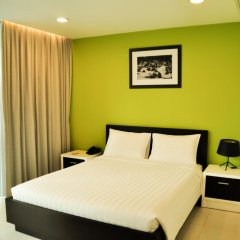 Minh Khang Hotel 3* Улучшенный номер с двуспальной кроватью фото 3