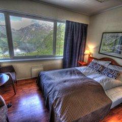 Отель Hotell Utsikten Geiranger - by Classic Norway 2* Стандартный номер с двуспальной кроватью фото 12