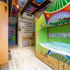 Chillout Hostel Zagreb Кровать в общем номере с двухъярусной кроватью фото 21
