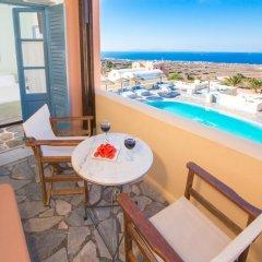 Отель Anemoessa Villa Греция, Остров Санторини - отзывы, цены и фото номеров - забронировать отель Anemoessa Villa онлайн балкон
