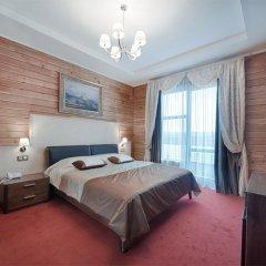 Гостиница Заречье Номер Комфорт двуспальная кровать фото 7