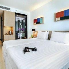 Отель Vic3 Bangkok 4* Студия Делюкс с различными типами кроватей фото 2
