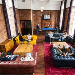 Отель Rest Up London - Hostel Великобритания, Лондон - 3 отзыва об отеле, цены и фото номеров - забронировать отель Rest Up London - Hostel онлайн интерьер отеля фото 2