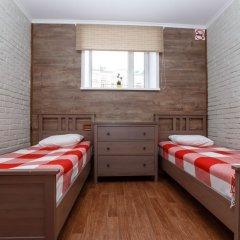 Хостел Кукуруза Стандартный семейный номер с разными типами кроватей (общая ванная комната) фото 8
