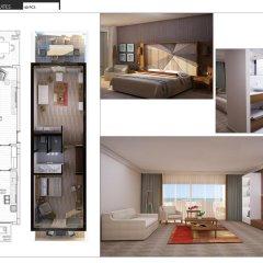Отель Nirvana Lagoon Villas Suites & Spa 5* Люкс повышенной комфортности с различными типами кроватей фото 11