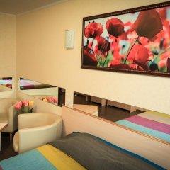 Гостиница Цветы Стандартный номер разные типы кроватей фото 31