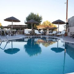 Отель Enjoy Villas Греция, Остров Санторини - 1 отзыв об отеле, цены и фото номеров - забронировать отель Enjoy Villas онлайн бассейн