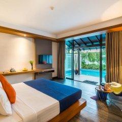 Отель Baywater Resort Samui 4* Номер Делюкс с различными типами кроватей фото 15