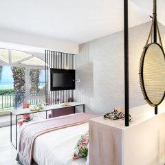 Отель Antigoni Beach Resort 4* Стандартный номер с различными типами кроватей фото 8