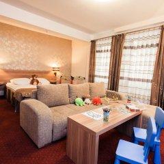 Duet Hotel 3* Стандартный семейный номер с разными типами кроватей фото 4