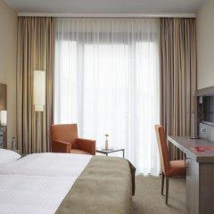 Отель InterCityHotel Leipzig 4* Стандартный номер с различными типами кроватей фото 4