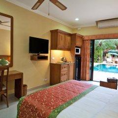 Отель Baan Souy Resort 3* Улучшенная студия с разными типами кроватей фото 5