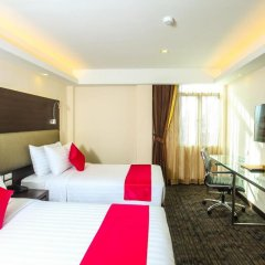 Hotel Royal Bangkok Chinatown 4* Улучшенный номер двуспальная кровать фото 3