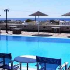Отель Sea Side Perivolos Греция, Остров Санторини - отзывы, цены и фото номеров - забронировать отель Sea Side Perivolos онлайн бассейн