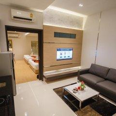 Platinum Hotel 3* Улучшенные апартаменты разные типы кроватей фото 7