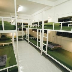Euro Asia Hostel Кровать в общем номере с двухъярусной кроватью