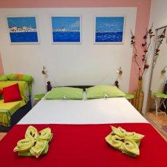 Апартаменты Studio Venera Семейная студия с двуспальной кроватью фото 20